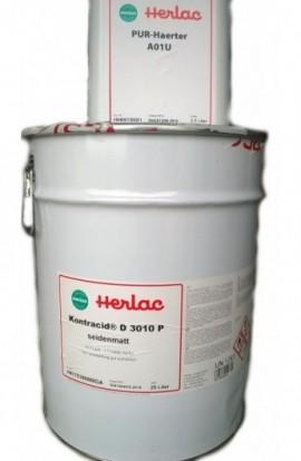 Komplet: lakier poliuretanowy KONTRACID D 3010 P i katalizator PUR A 01 U
